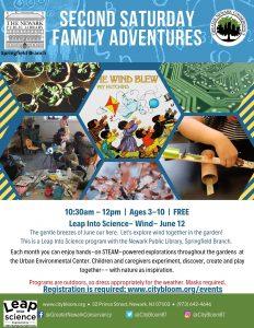 Second Saturdays Family Adventures