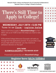 There's Still Time to Apply to College!