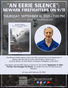 """""""An Eerie Silence"""":  Newark Firefighters on 9/11"""