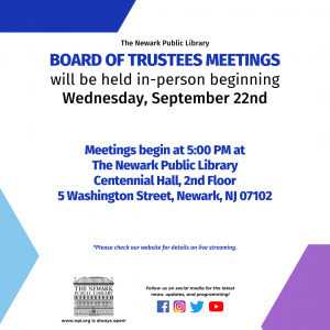 NPL Board of Trustees Meeting {In Person}